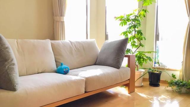 家具蔵の3人掛けソファ