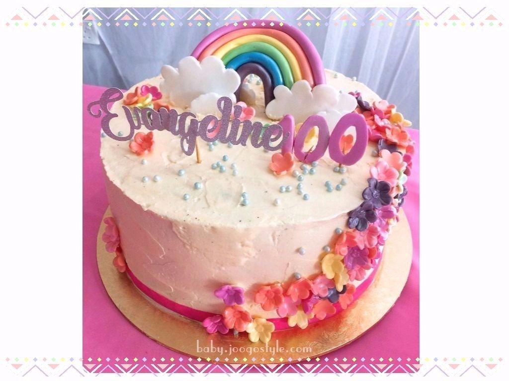 100 Days Cake