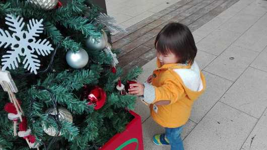 クリスマスツリー クリスマスツリー 2歳2ヶ月