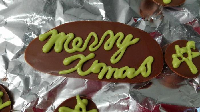クリスマス 手づくりケーキ 子供と一緒 2歳3ヶ月