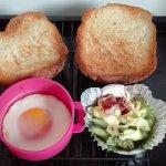 ヘルシオ同時調理 朝食セット