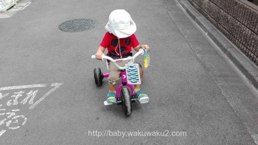 こゆたん 2歳10ヶ月 運動 三輪車 ペダル