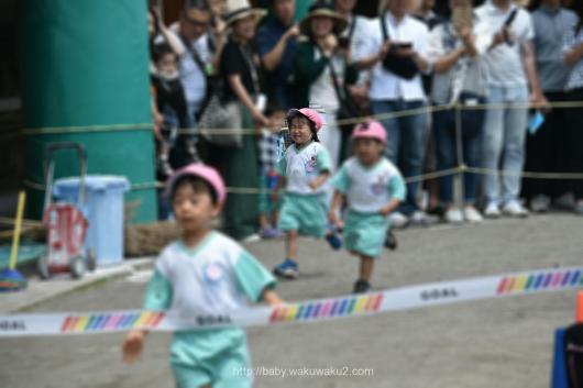 幼稚園 父親参観 ミニ運動会 年少 運動会