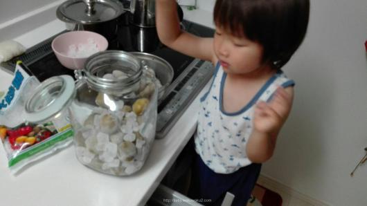 梅ジュース つくりかた 3歳