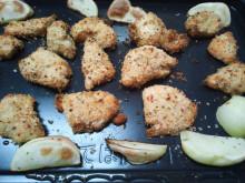 鳥のチーズ香草焼き 石窯ドーム