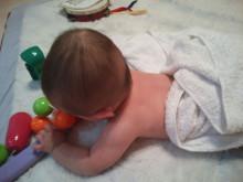 赤ちゃん 髪の毛 頭