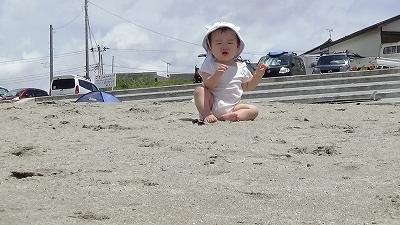 赤ちゃん 海