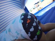 赤ちゃん 海 水着