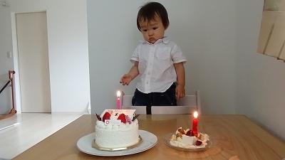1歳 おたんじょうび