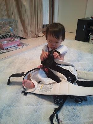 1歳 おでかけ 抱っこ紐