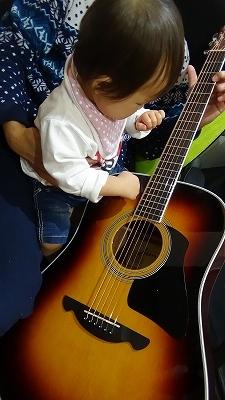 ギター 1歳