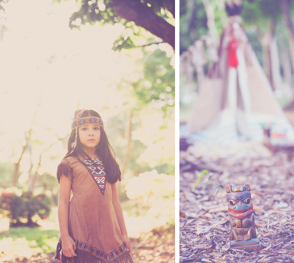 An Indian Decor Blog The Charming: Native American-Inspired Girl Shoot