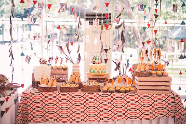 Pow Wow Indian Boho Themed Birthday Party Via Kara S Ideas Karaspartyideas Com