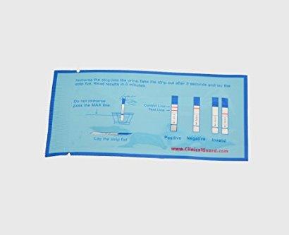 cliniclaguard pregnancy test strips third image