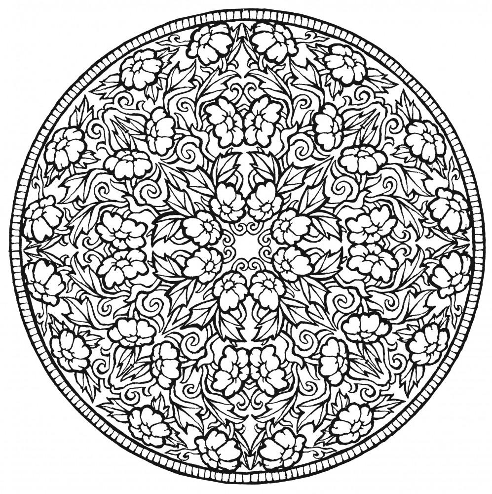 Colorarea Mandalas Descărca și Imprima Terapia De Arta