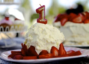 Healthy Banana Smash Cake Recipe for First Birthday