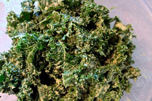 Cilantro Lime Kale Chips