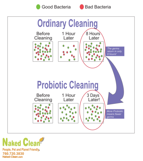Probiotic Cleaning