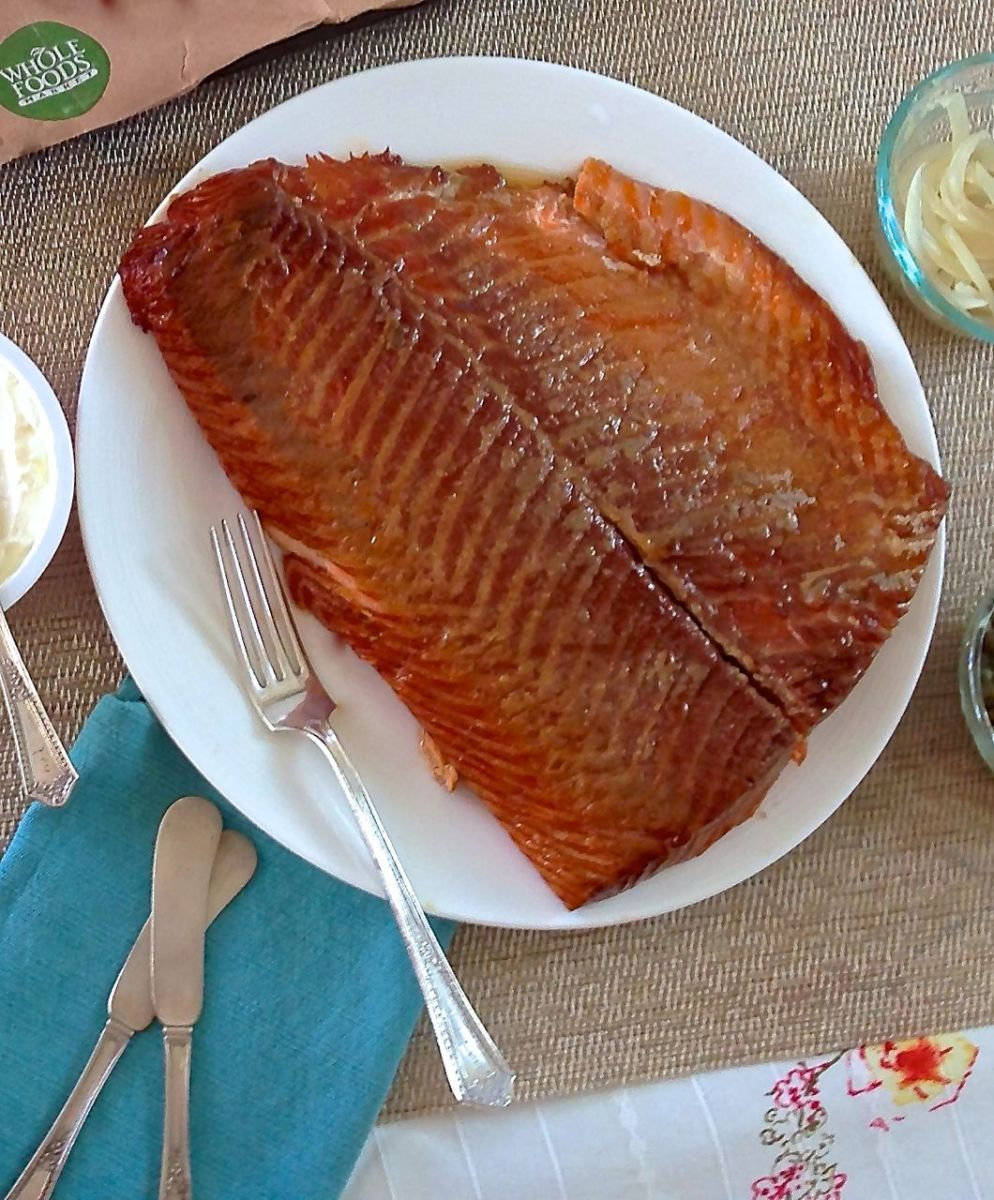 Home Smoked Salmon