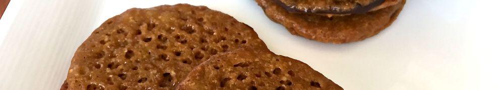Dark Chocolate Almond Lacy Cookie (Trader Joe's Copy Cat Recipe)
