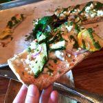garden pizza at green acres san diego restaurant