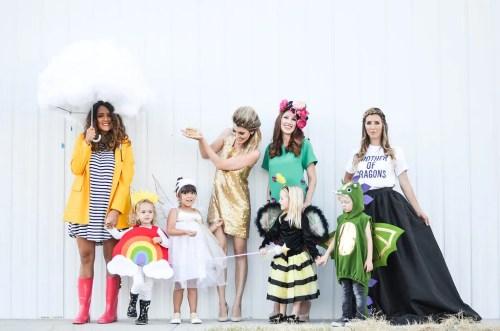 Creative Costumes for Moms and Kids