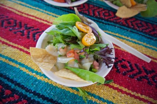Farm to Bay - Living Coast Discovery Center - Chula Vista Olympic Training Center's Scallop Ceviche