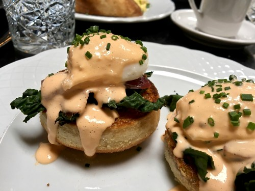 Herb-and-Wood-Brunch San Diego Eggs Benedict