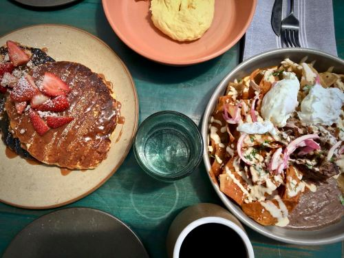 El Jardin in San Diego is now serving brunch out on their garden patio