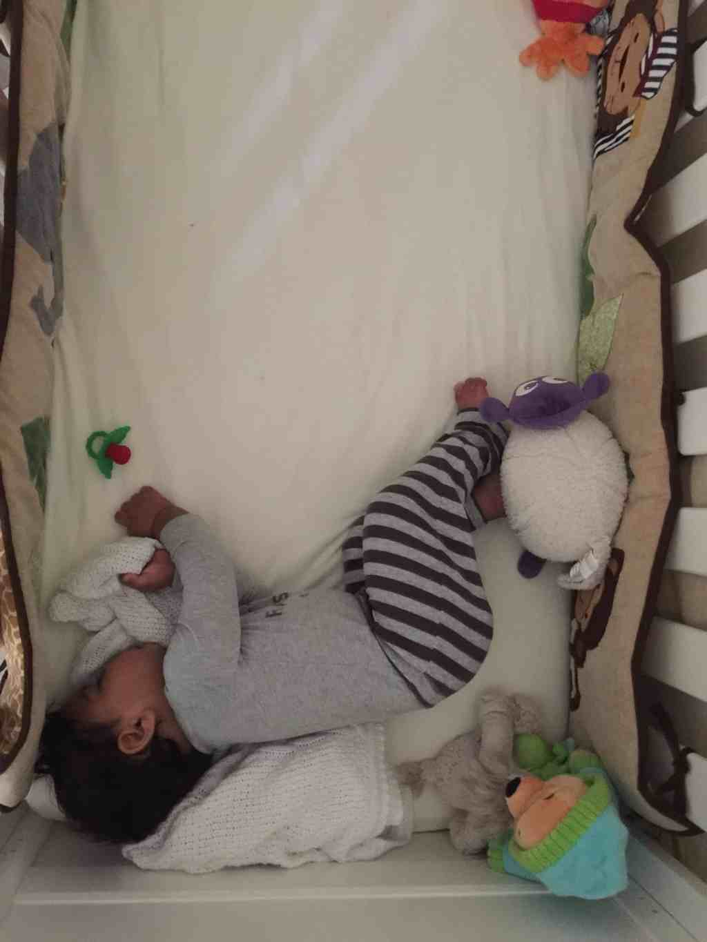 Breaking Our Co-Sleeping Habit … Perseverance, Patience and Plenty of Caffeine!