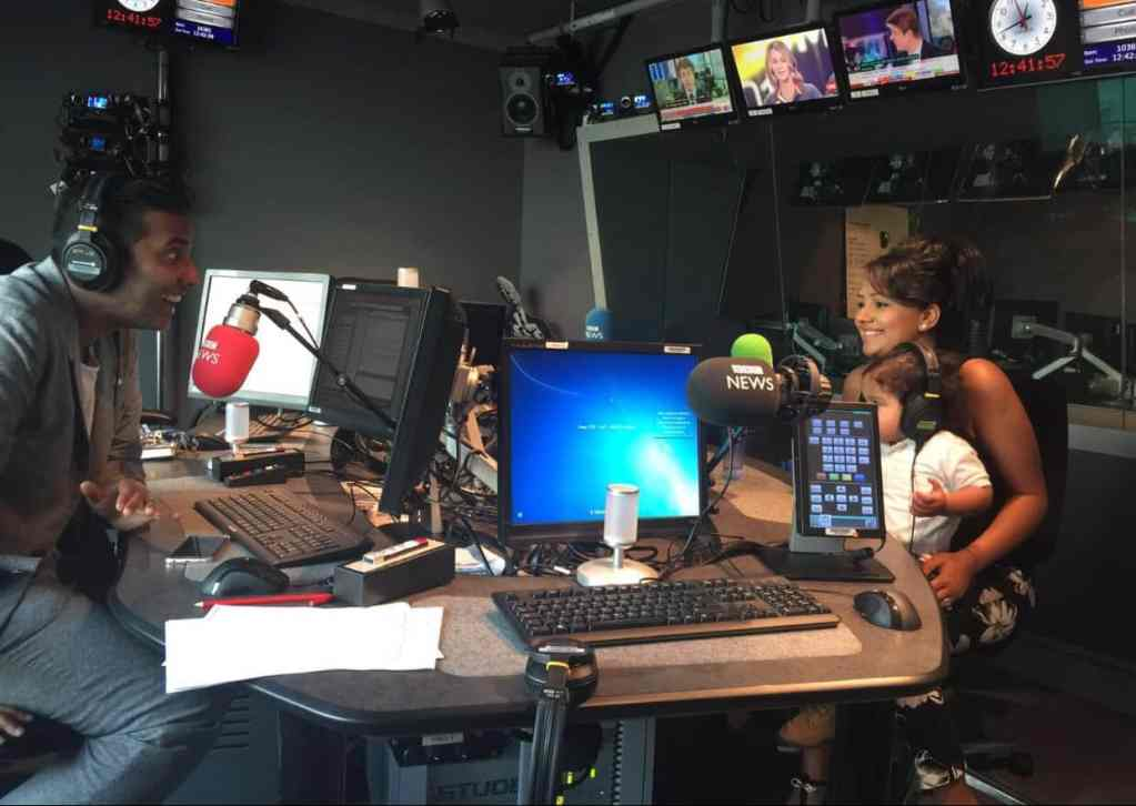Baby Brain Memoirs (Inc Arjy) on BBC Asian Network with The Real Nihal