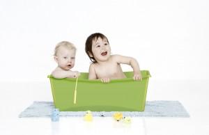 folding baby bath