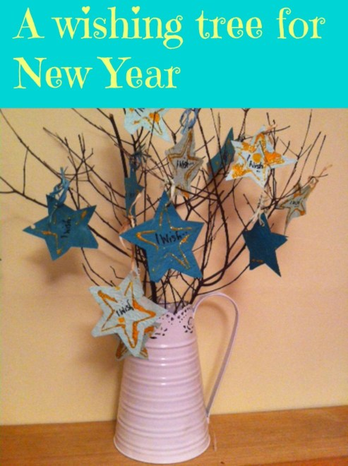 wishing tree for new year