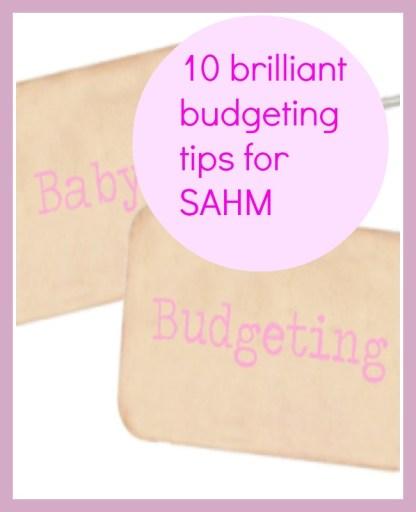 budgeting tips for SAHM