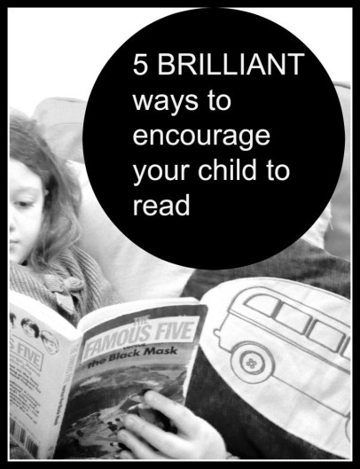 encourage your child to read