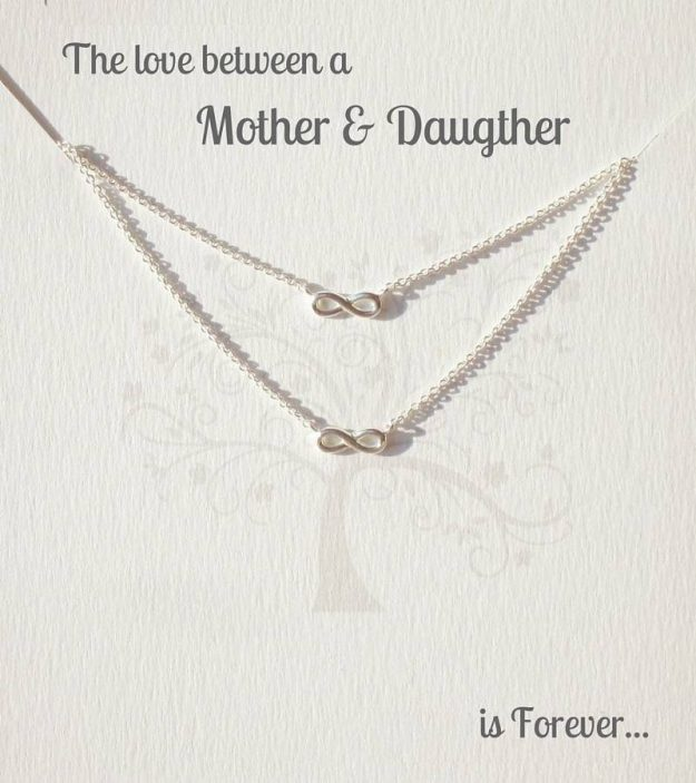 mum and me necklace
