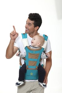 TOP #1 BABY CARRIER with HIP SEAT, New Design Ergonomic Style