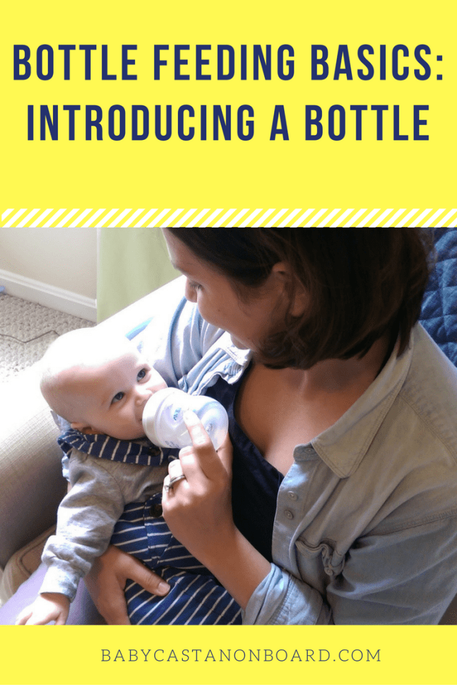 If you ever want to leave the house, without your baby, for more than an hour you will need to introduce a bottle. Here are the basics of bottle feeding.