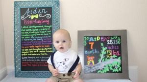Happy Seven Months! Seven Month Update