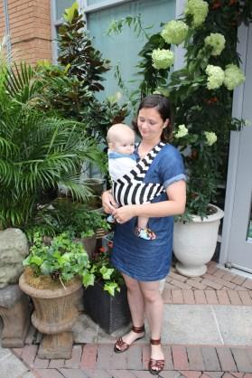 Babywearing wrap flower store