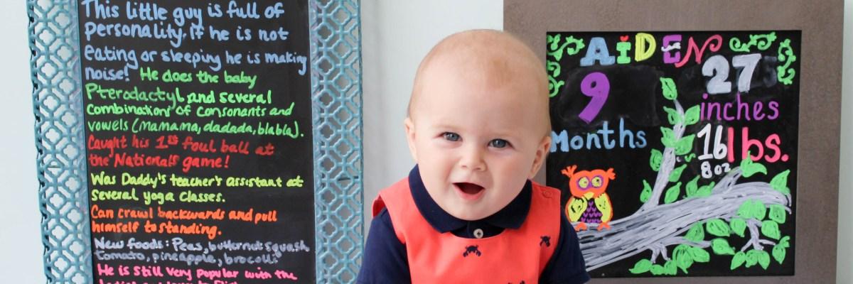 Aiden nine months