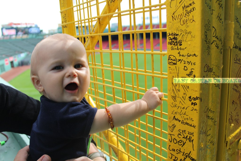 Aiden-Ten-Months-fenway-pole