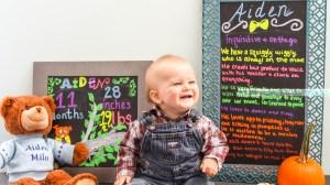 Happy Eleven Months: Aiden's Monthly Update