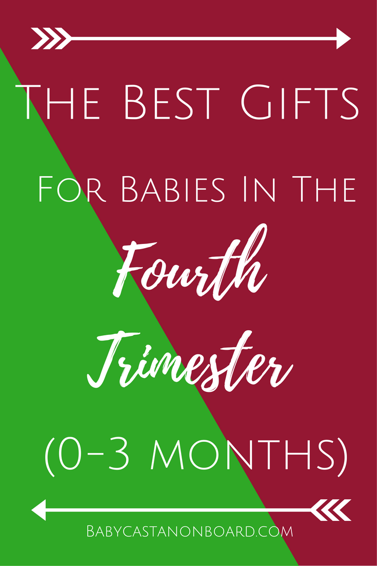 For new babies who have a October-December birthday this one is for you. Here are the best gifts for the fourth trimester (0-3 months).
