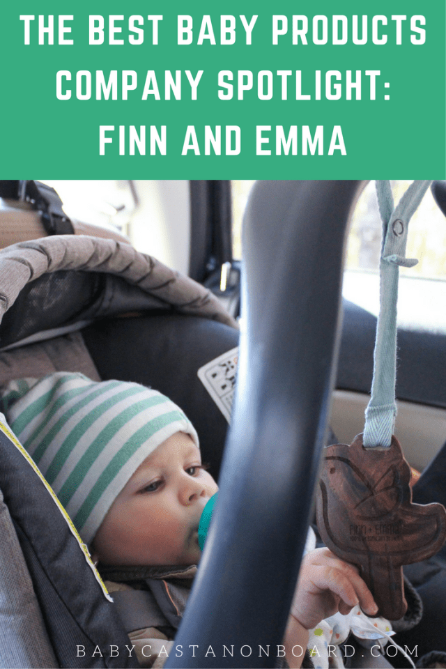 It is important to consider products that are made with natural materials that are safe for a baby to wear and/or handle. That is why we LOVE Finn and Emma.