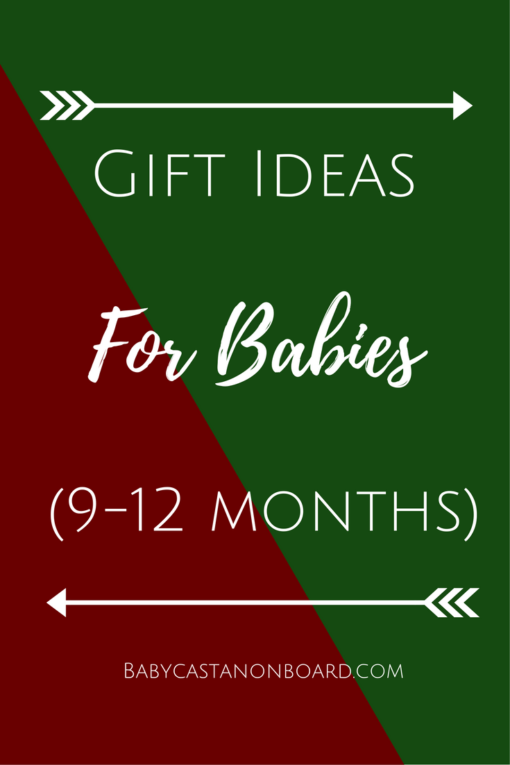 It wasn't so long ago that I had no idea what to get for a one-year-old. Now that I have a one year old, I have a pretty good idea! Here is a list of gift ideas for babies 9-12 months.