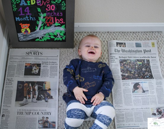 Aiden turned 14 months today. This is an update of everything that happened during month 13 from changes in play to eating to getting his first tooth. - Happy 14 Months Aiden featured by popular DC Mommy blogger, Baby Castan On Board