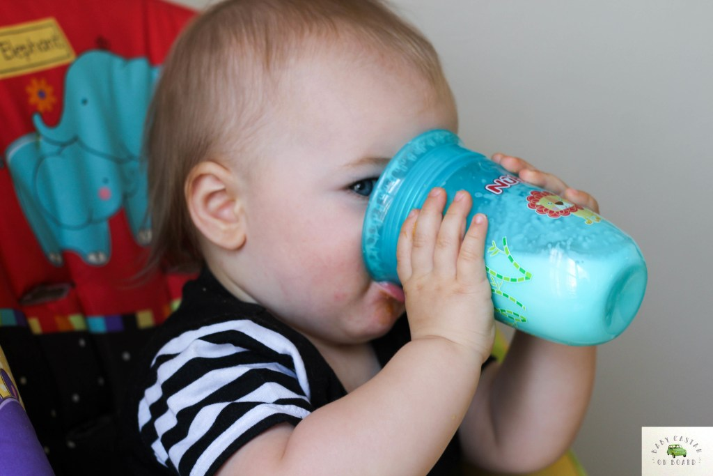 Product Review: Nuby Comfort 360 6 Stage Bottle to Cup Kit
