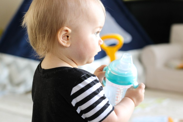 Nuby Comfort 360 6 Stage Bottle to Cup Kit review featured by popular DC mommy blogger, Baby Castan On Board