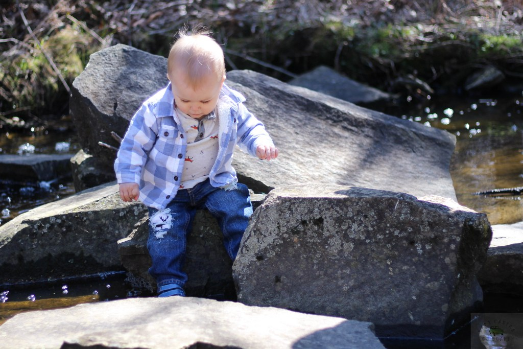 I love the look of distressed denim on babies. Here are step by step instructions for making distressed denim for babies and toddlers. - DIY Distressed Denim by popular DC mommy blogger Baby Castan on Board